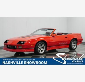 1989 Chevrolet Camaro for sale 101400159