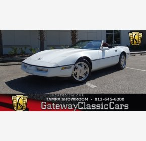 1989 Chevrolet Corvette Convertible for sale 101052407
