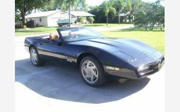 1989 Chevrolet Corvette Convertible for sale 101221962