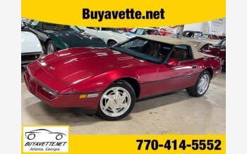 1989 Chevrolet Corvette Convertible for sale 101479853