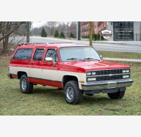 1989 Chevrolet Suburban 4WD for sale 101418894