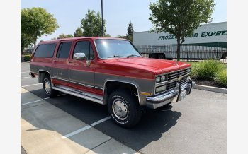 1989 Chevrolet Suburban 4WD 2500 for sale 101605167