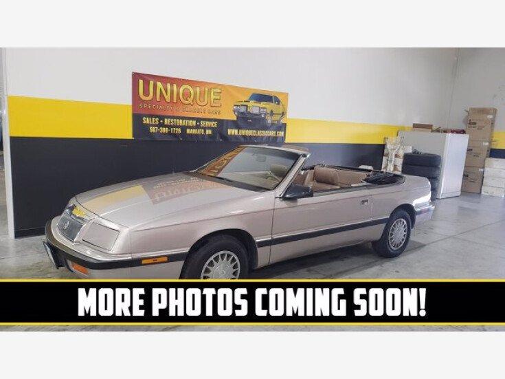 1989 Chrysler LeBaron Convertible for sale 101538734
