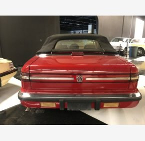 1989 Chrysler TC by Maserati for sale 101107469