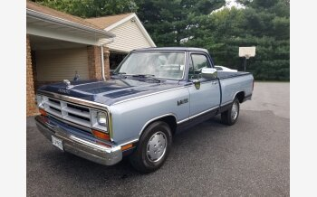 1989 Dodge D/W Truck 2WD Regular Cab D-100 for sale 101437681