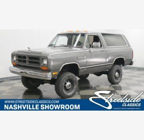 1989 Dodge Ramcharger 4WD for sale 101259003