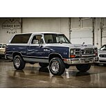 1989 Dodge Ramcharger for sale 101605188
