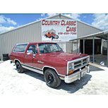 1989 Dodge Ramcharger for sale 101538748