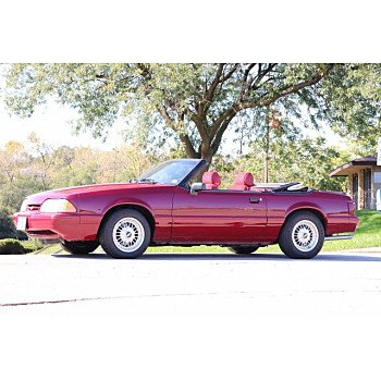 1989 Ford Mustang LX V8 Convertible for sale 101109911