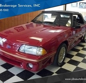 1989 Ford Mustang GT Convertible for sale 101169349