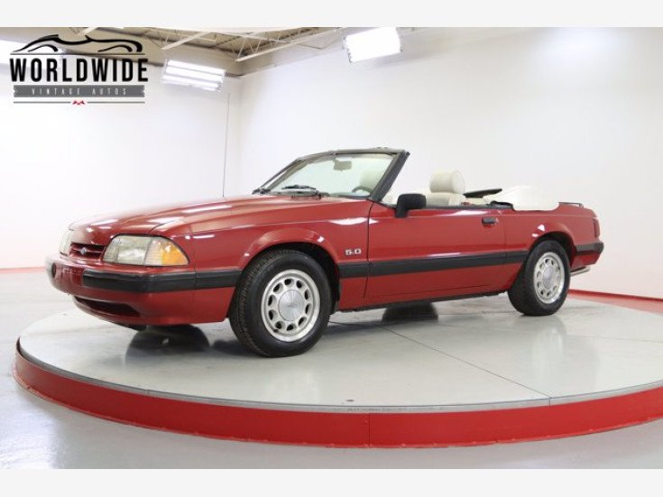 1989 Ford Mustang LX V8 Convertible for sale 101570951