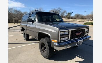 1989 GMC Jimmy 4WD for sale 101432593