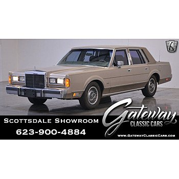 1989 Lincoln Town Car for sale 101136234