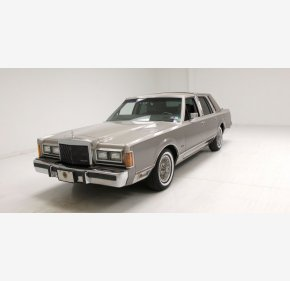 1989 Lincoln Town Car Cartier for sale 101290753