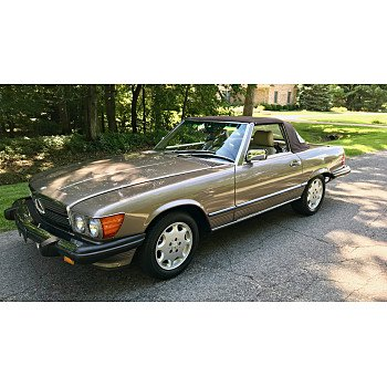 1989 Mercedes-Benz 560SL for sale 101262487