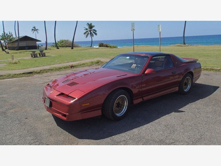 1989 Pontiac Firebird Trans Am Coupe for sale 101454249