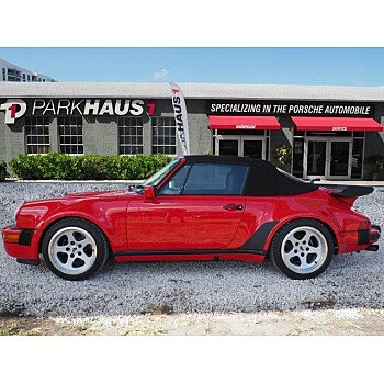 1989 Porsche 911 Turbo Cabriolet for sale 101068135