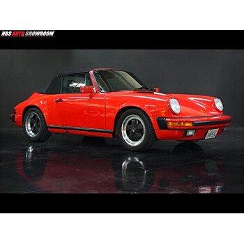 1989 Porsche 911 Carrera Cabriolet for sale 101078396
