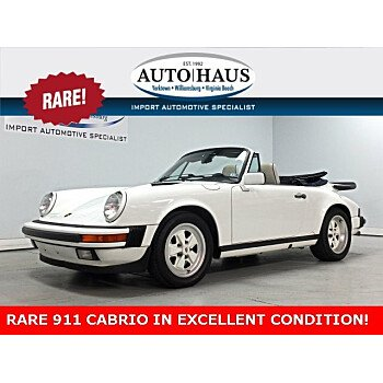 1989 Porsche 911 Carrera Cabriolet for sale 101098008