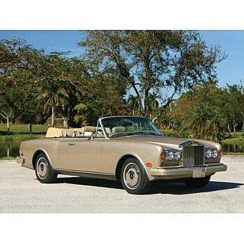1989 Rolls-Royce Corniche for sale 101286738