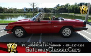 1990 Alfa Romeo Spider Veloce for sale 101034883
