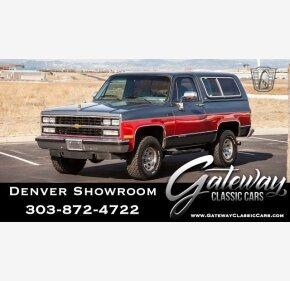 1990 Chevrolet Blazer 4WD for sale 101101412