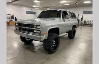 1990 Chevrolet Blazer 4WD for sale 101606209