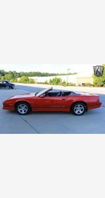 1990 Chevrolet Camaro IROC-Z Convertible for sale 101192220