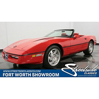 1990 Chevrolet Corvette Convertible for sale 101204721