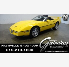 1990 Chevrolet Corvette Convertible for sale 101219202