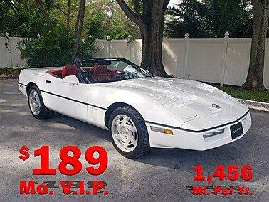1990 Chevrolet Corvette for sale 101388975