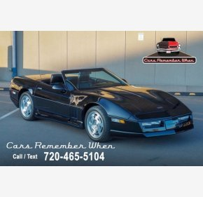 1990 Chevrolet Corvette Convertible for sale 101455862
