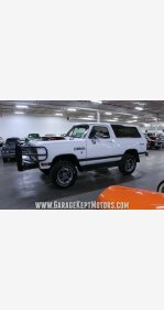 1990 Dodge Ramcharger 4WD for sale 101075280