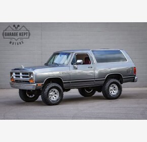 1990 Dodge Ramcharger 4WD for sale 101412652