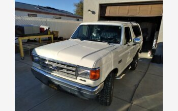 1990 Ford Bronco XLT for sale 101530323