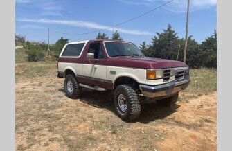 1990 Ford Bronco XLT for sale 101535038