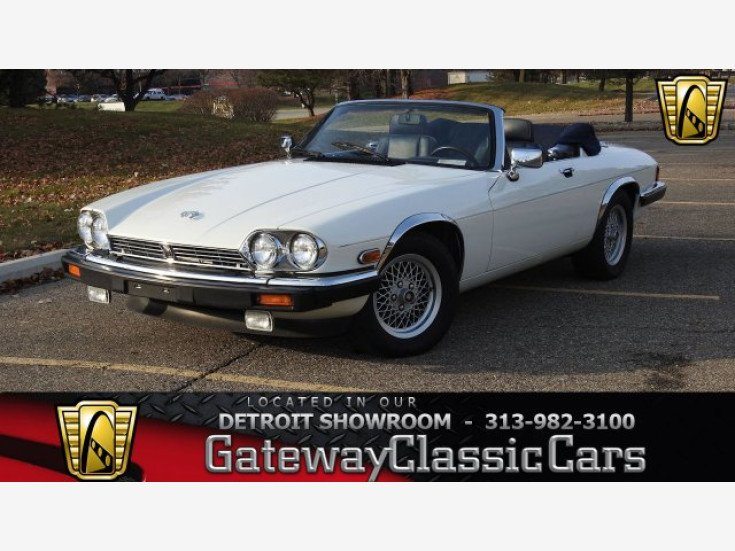 1990 Jaguar Xjs V12 Convertible Car For By Gateway Clic Cars In O Fallon Illinois 62269