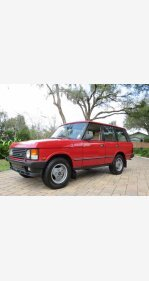 1990 Land Rover Range Rover for sale 101457221