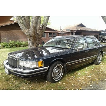 1989 Lincoln Town Car For Sale Near Woodland Hills California 91364