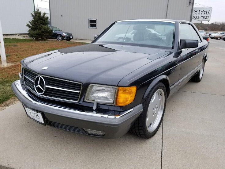 1990 Mercedes Benz 560SEC For Sale Near Papillion Nebraska 68046