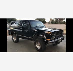 1991 Chevrolet Blazer 4WD 2-Door for sale 101261768