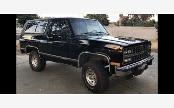 1991 Chevrolet Blazer 4WD 2-Door for sale 101261768