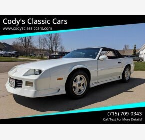 1991 Chevrolet Camaro for sale 101318628