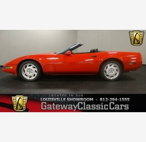 1991 Chevrolet Corvette Convertible for sale 100988607