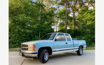 1991 Chevrolet Silverado 1500 2WD Extended Cab for sale 101329234