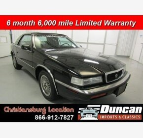 1991 Chrysler TC by Maserati for sale 101013759