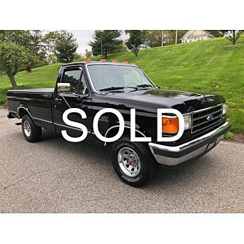 1991 Ford F150 2WD Regular Cab for sale 101141010