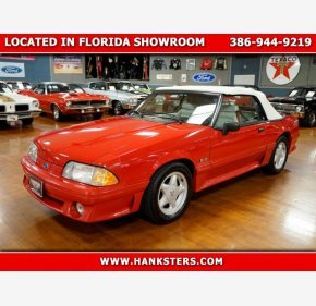 1991 Ford Mustang GT Convertible for sale 101230554