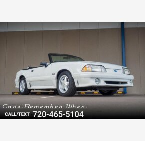 1991 Ford Mustang Clics For On Autotrader