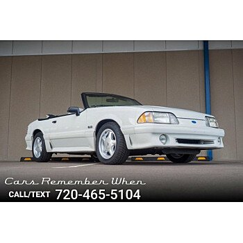 1991 Ford Mustang GT Convertible for sale 101260056